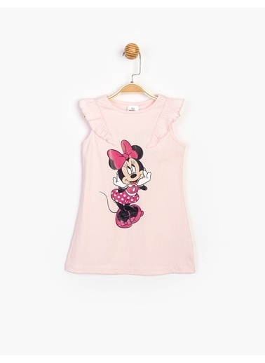 Minnie Mouse Elbise Pembe